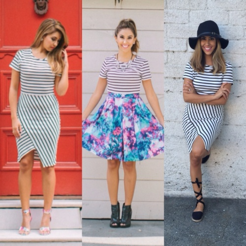 stripe three way