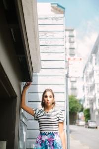 striped dress 3